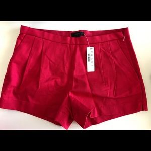 J. Crew pleated shorts